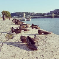 Shoes at Danube River